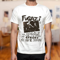 Fugazi Hardcore Punk design clothing lives for T-shirt Mens and T-shirt Girls