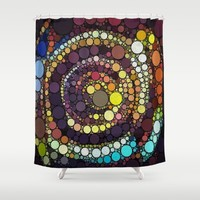 :: Crop Circle Circus :: Shower Curtain by :: GaleStorm Artworks ::
