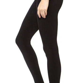 Fleece Lined Tights with Stirrup