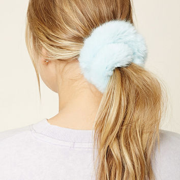 Faux Fur Hair Scrunchie