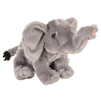 8 Inch Elephant Stuffed Animal Plush Floppy Zoo Species Collection