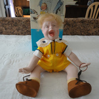 Collector Edition Norman Rockwell Porcelain Character Doll