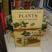 Vintage Ladybird Book, Plants and how they grow,childhood memories,children's book 1964 VGC Rare collectable