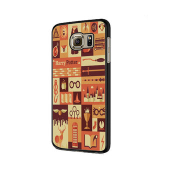 Harry Potter Collage Samsung Galaxy S6 | S6 Edge Cover Cases