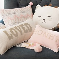 Emily & Meritt Decorative Pillows | Pottery Barn Kids