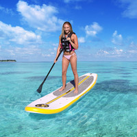 Airhead Stand-Up Paddleboard with Seat, Pump & Backpack