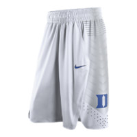 Nike Hyper Elite (Duke) Men's Basketball Shorts Size Large (White)