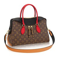 Louis Vuitton Monogram Canvas Tuileries Multi Carry Handbag Noir Article:M41454 Made in France