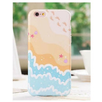 Footprints in the Sand Aloha Case iPhone 6 6S 4.7 /6 6S Plus