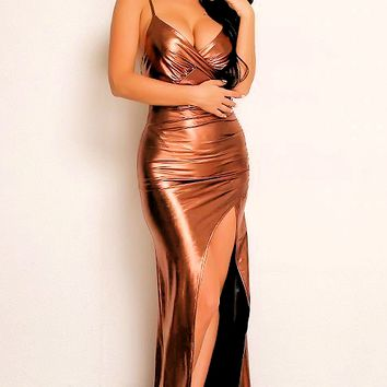 Chyanne Maxi Slit Dress
