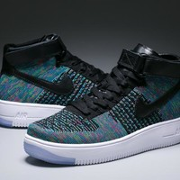 qiyif NIKE AF1 FLYKNIT air force weaving
