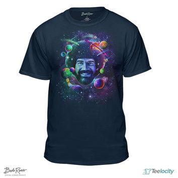 Bob Ross Planets and Space T-Shirt