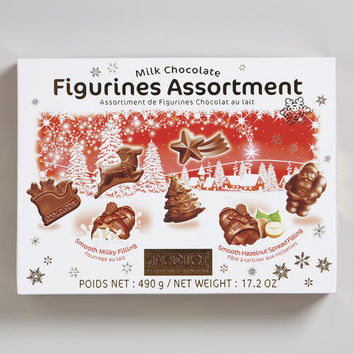 Jacquot Assorted Milk Chocolate Figurines