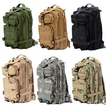 800 Nylon Waterproof Outdoor Military Rucksacks Tactical Backpack Sports Travel Camping Trekking Hiking Fishing Bag [9305729543]