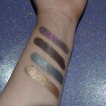 Arabian Nights Eyeshadow Palette (Duochrom & foiled)