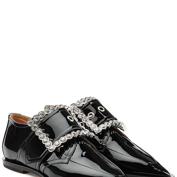 Maison Margiela - Patent Leather Flats with Embellishment