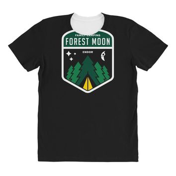 endor family camping All Over Women's T-shirt