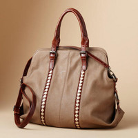 Convertible Vegan Satchel                       | Robert Redford's Sundance Catalog