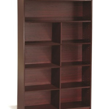 Guidecraft 6 Shelf Bookshelf Cherry - G6337