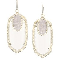 Emmy Drop Earrings in Clear Cosmic - Kendra Scott Jewelry
