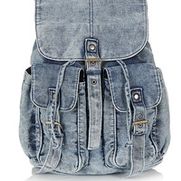 Railroad Denim Backpack - Bags & Wallets - Bags & Accessories - Topshop USA