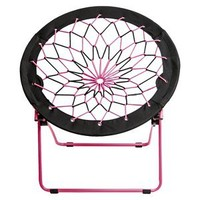 Room Essentials Pink/Black Bungee Chair