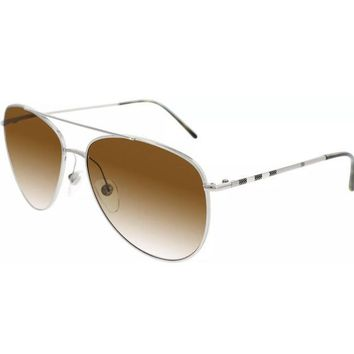 DCCKON2 BURBERRY GRADIENT AVIATOR SUNGLASSES