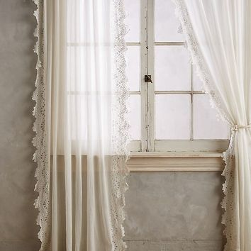 Eyelet-Trimmed Curtain