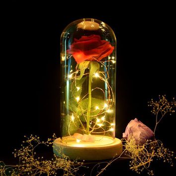 Forever Rose Flower Lamp