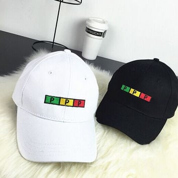 PPP Letters Embroidered Baseball hat Hat