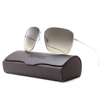 Oliver Peoples Berenson Sunglasses 1165ST 5036/9N Silver / Lover Soul Polarized