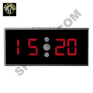 WiFi Invisible Night Vision Clock Camera & DVR