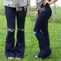 Walk With Me Flare Jeans