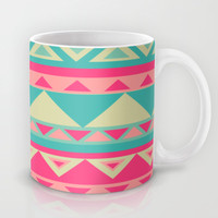 Tropical Tribal Mug by haleyivers
