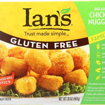 IAN'S NATURAL FOODS: Gluten Free Chicken Nuggets, 20 oz