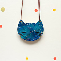 Cat Necklace for Cat Lovers