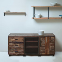 Reclaimed, Reconsidered, and Upcylcled. Sustainable Storage for your Most Important Items.