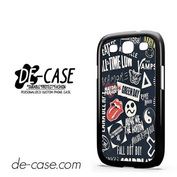 Music Band Stiker Bomb For Samsung Galaxy S3 Case Phone Case Gift Present YO