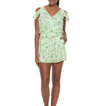 Her Universe Destination Disney The Princess And The Frog Cold Shoulder Romper
