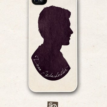 Iphone 5 hard or rubber case Supernatural, Dean Winchester