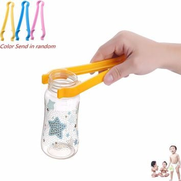 Plastic Baby Milk Bottles Cleaning Tongs Heat Proof Clip