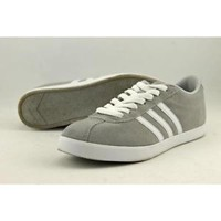 Adidas Courtset  Women US 8 Gray Sneakers Pre Owned  1347