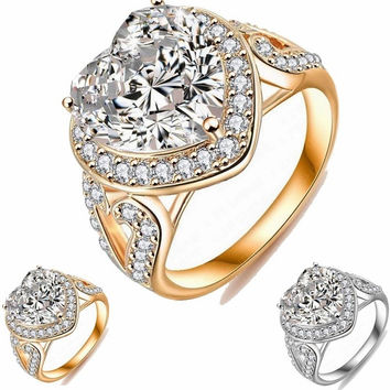 cut rings vintage engagement products plated rhinestone size jewelry gold ring brilliant