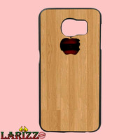 my apple woodfor iphone 4/4s/5/5s/5c/6/6+, Samsung S3/S4/S5/S6, iPad 2/3/4/Air/Mini, iPod 4/5, Samsung Note 3/4 Case *005*