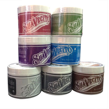Hair color wax dye one-time molding paste 6 colors available Moisturizing stereotypes hair dye wax A2