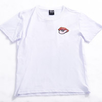 Summer Short Sleeve Cotton Round-neck T-shirts [10176387655]