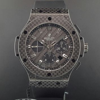 Hublot Big Bang Evolution All Carbon Fiber 44mm 301.QX.1740.GR Box & Papers New