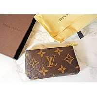 LV Louis Vuitton Women's Fashion Handbag Bracelet Key Bag F