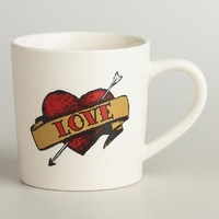Love Tattoo Mug - World Market