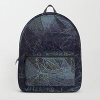 texture geometry Backpacks by Bunny Noir